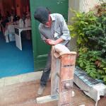 a sculptor